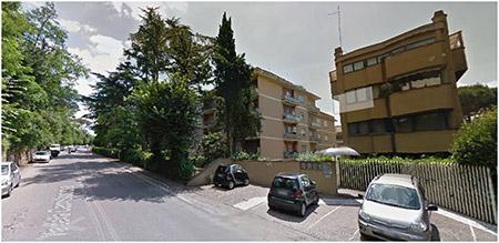 appartamento roma via della camilluccia 4